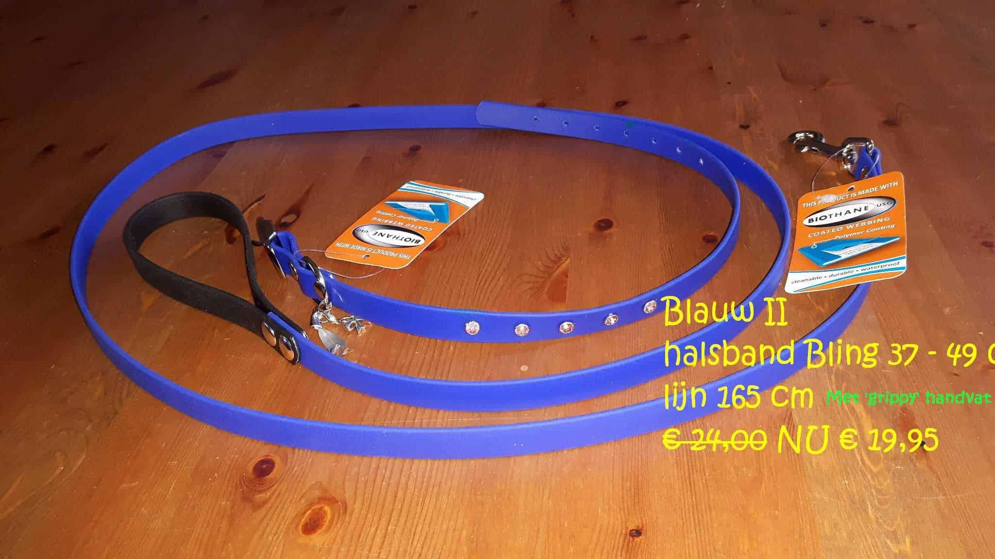 Actie Halsband/lijn setjes