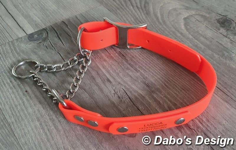 Honden Halsband half-check Biothane®