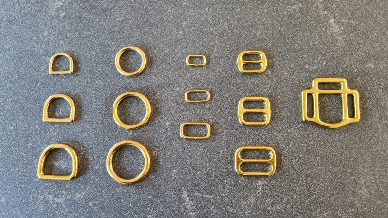 Ringen/Loops Messing
