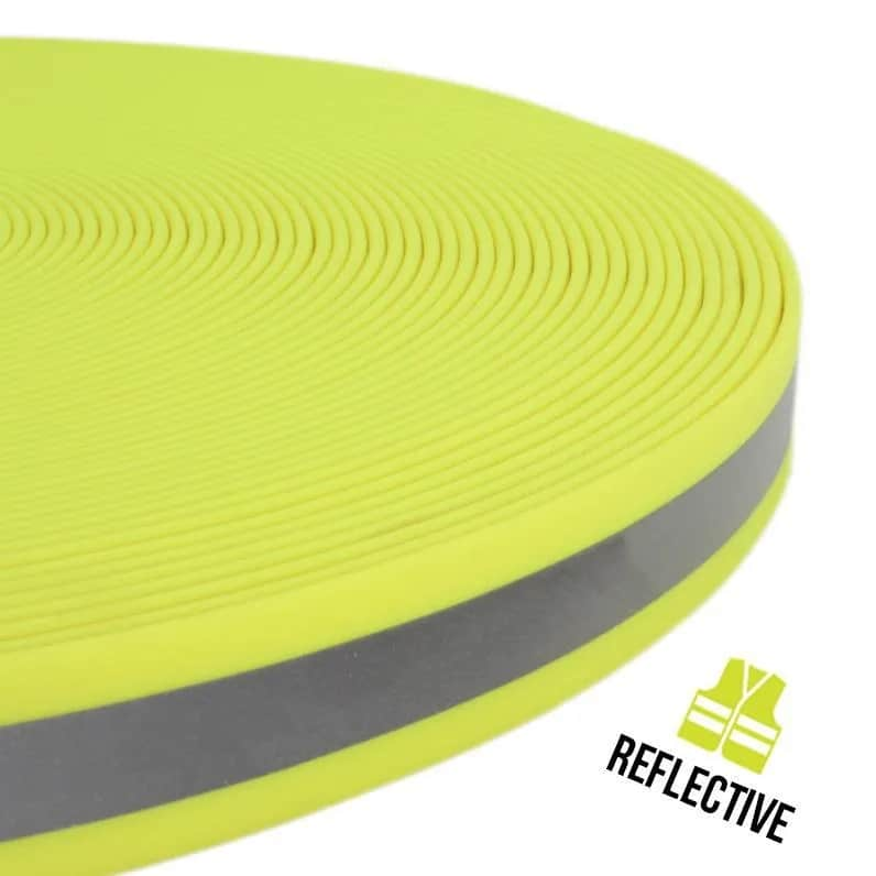 PVC Webband 20mm OOK reflectie